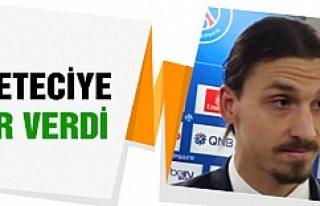 Ibrahimovic'den gazeteciye azarladı!
