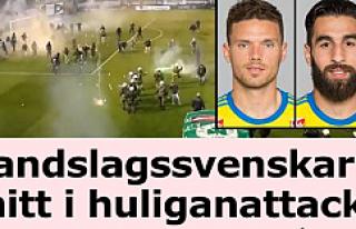 İki İsveçli Futbolcunun bulunduğu Derbi'de ortalık...