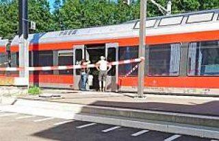 İki kişiyi bıçakladı treni yakmaya kalktı
