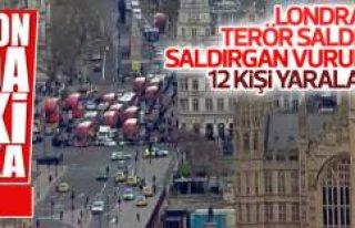 İngiltere Parlamentosu'nda terör saldırısı