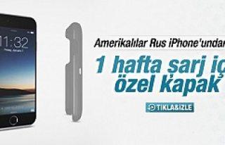 iPhone'a 1 hafta şarj imkanı sunan kapak