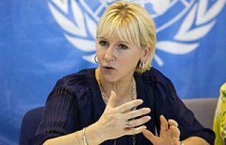 İsrail'den İsveç Dışişleri Bakanı'na tehdit!