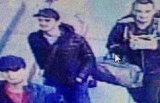 İstanbul'da terör saldırısı yapan üç teröristin...