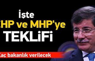 İşte AK Parti'nin CHP ve MHP'ye teklifi