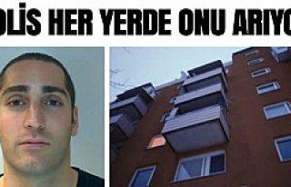 İsveç'te polis eşini balkondan atan bu adamı...