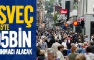 İsveç 2015 yılında 95 bin sığınmacı alacak