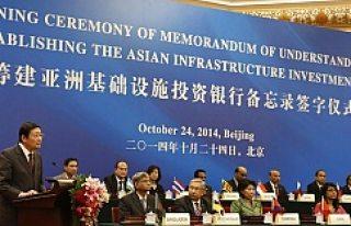 İsveç AIIB Asya Altyapı Kalkınma Bankasına Katılmak...