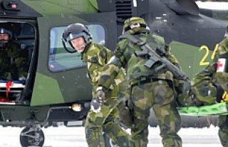 İsveç askerinden Somali çıkarması...VİDEO