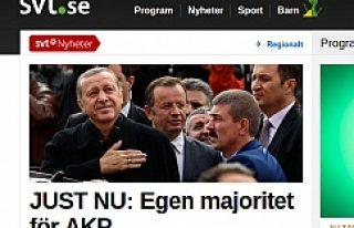 İsveç Basını, ''Erdoğan'ın Büyük...