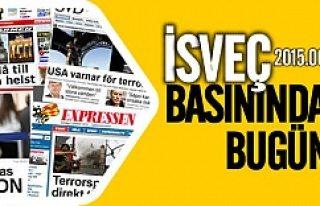 İsveç basınında bugün 10.06.2015