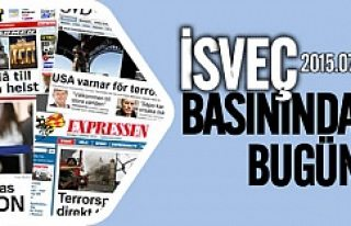 İsveç basınında bugün 13.07.2015