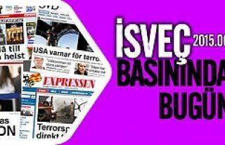 İsveç basınında bugün 16.06.2015