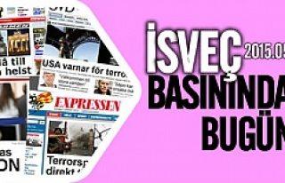 İsveç Basınında bugün 28.05.2015