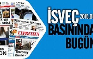 İsveç Basınında bugün 29.05.2015