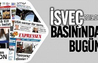 İsveç Basınında bugün 30.06.2015