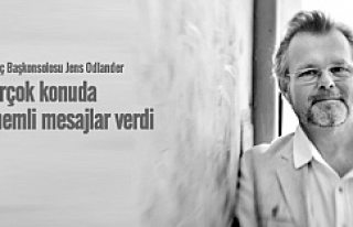 İsveç Başkonsolosu Jens Odlander uzun vize bekleme...