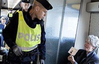 İsveç- Danimarka arası pasaport ve kimlik kontrolü...