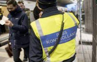 İsveç, Danimarka arasındaki sınır kontrolünü...