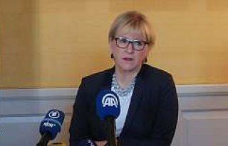 İsveç Dışişleri Bakanı Wallström'ün Azerbaycan,...