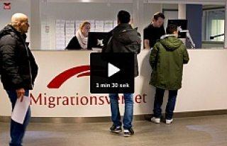 İsveç'e dün sadece 7 sığınmacı geldi