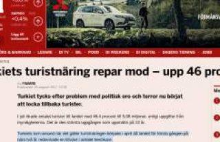 İsveç Gazetesi: ''Türkiye'ye gelen...