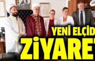 İsveç'in yeni elçisi Atalay'ı ziyaret...