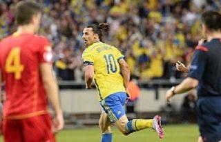 İsveç, Karadağ'ı İbrahimovic'le geçti