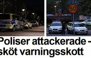 İsveç medyası Tensta olaylarında polisi savundu!