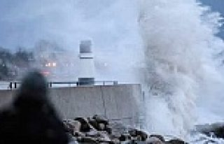 İsveç, Norveç ve Danimarka fırtınanın pençesinde...