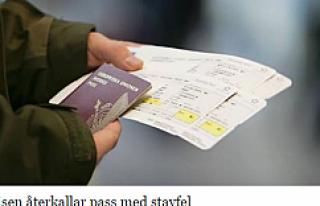 İsveç pasaportunu yenileyenler kontrol etsin! Aksi...