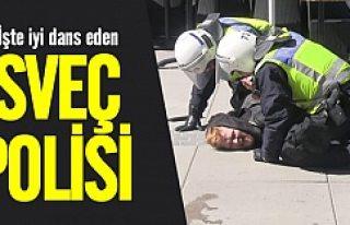 İsveç polisi şiddet uygulamaz öyle mi?