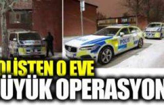 İsveç polisinden silahlı şahısların kaldığı...