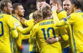 İsveç rakibini gol yağdırdı