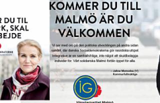 İsveç Sol Parti'den Danimarka başbakanına...