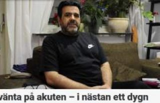 İsveç'te acil serviste bekleme rekoru: 21 saat
