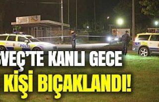 İsveç'te bar ve restoran kavgası 4 kişi bıçaklandı