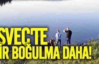 İsveç'te bir boğulma daha