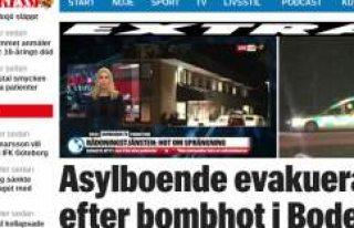 İsveç'te bomba alarmı: Sığınmacı kampı...