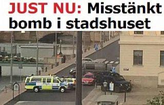 İsveç'te bomba paniği!