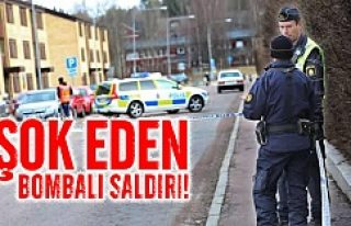 İsveç'te bombalı saldırı herkesi şok etti!