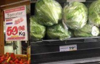 İsveç'te Domates Ve Marul Fiyatları El Yaktı