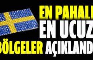 İsveç'te elektriğin en pahalı ve en ucuz...