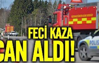 İsveç'te feci kaza can aldı