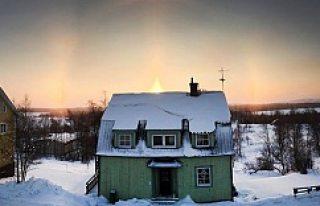 İsveç'te hava sıcaklığı eksi 40 geçti...