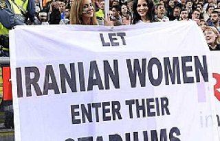 İsveç'te İran prorestosu ses getirdi