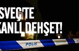 İsveç'te kanlı dehşet!