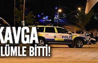 İsveç'te kanlı kavga 1 ölü