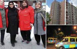 İsveç'te Kululu kadınları Trump'a örnek...