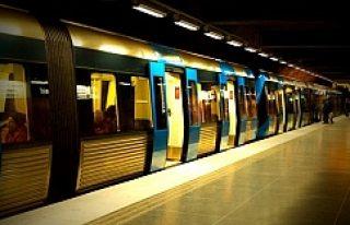 İsveç'te metroya kaçak binen yolcu oranı