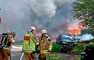 İsveç'te okul yangını korkuttu!
